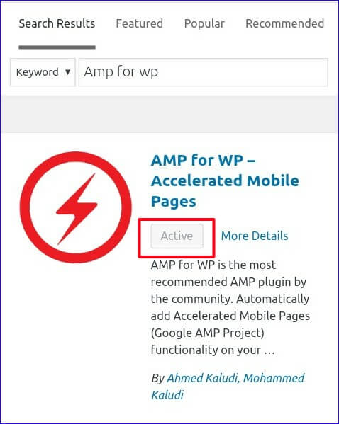Search And Install Amp Plugin