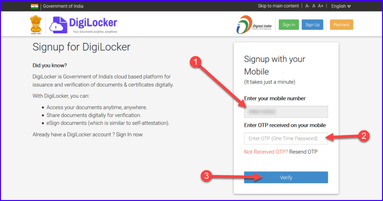 digilocker-account-kaise-banaye