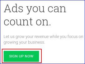 Signup Google Adsense Account