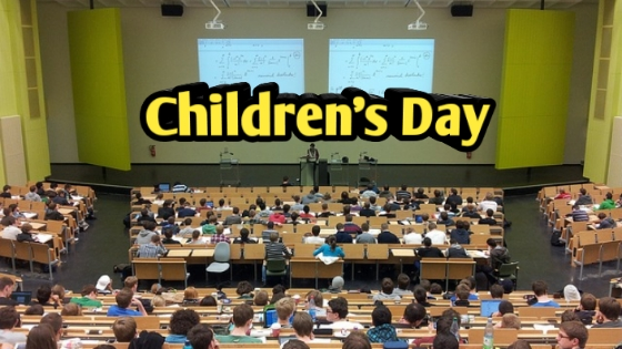 Children's Day Details