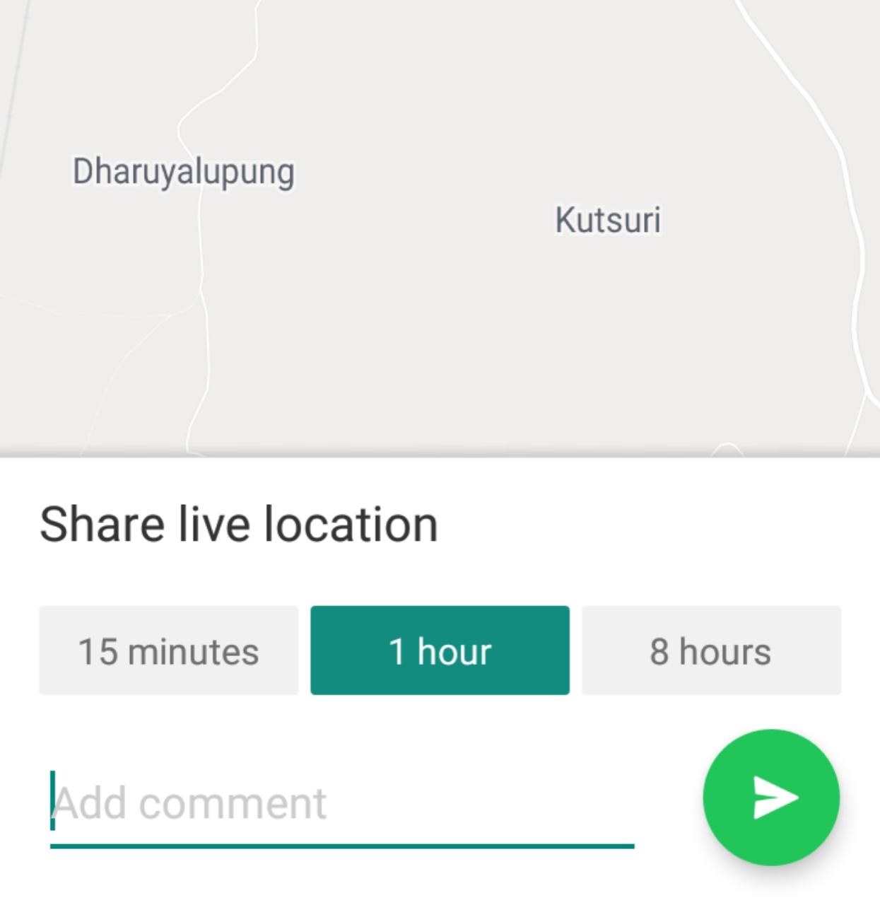 Whatsapp Live Location Send