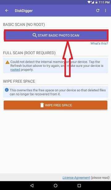 DiskDigger App Install Method